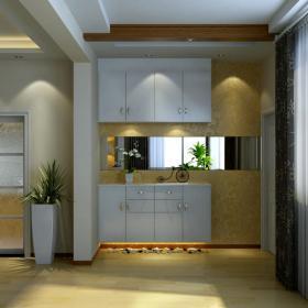 108平米现代时尚风格三居室装修设计