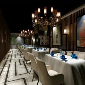 饭店走廊吊顶设计欣赏