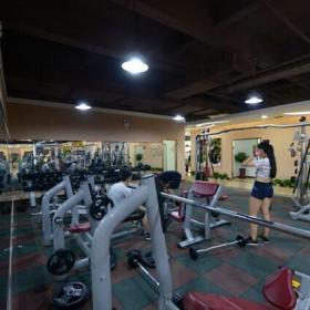 室内健身房展示