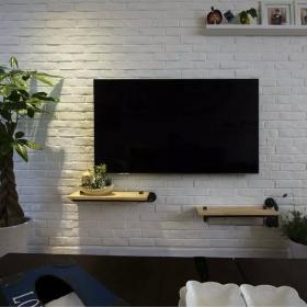 中式家装电视墙背景图片欣赏