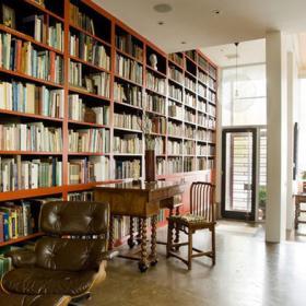 簡約風格圖書館設計