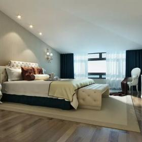 歐式閣樓臥室裝修 臥室裝修圖片