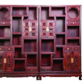 室內中式博古架設計