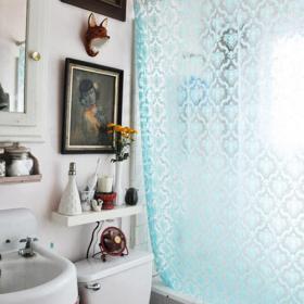 輕裝修重裝飾的美式住宅衛生間裝修設計