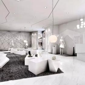 服裝商店設計室內案例