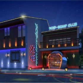 酒吧裝修設計 酒吧外觀設計