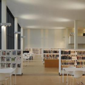 現代圖書館裝修設計