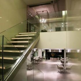 美發店樓梯裝修設計
