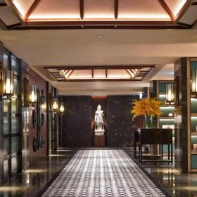 香港滿福樓過道設計