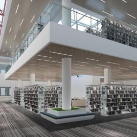 學校圖書館裝修圖片