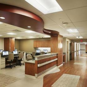 医院装修效果图之办公区
