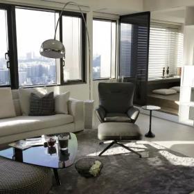簡約客廳窗戶設計效果圖