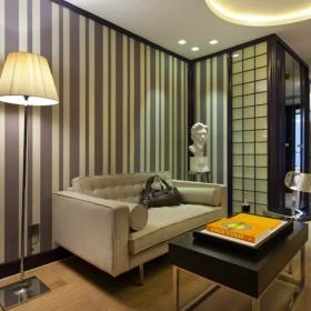酒店沙發背景墻裝修設計圖