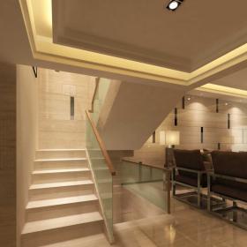 復式家居客廳樓梯設計