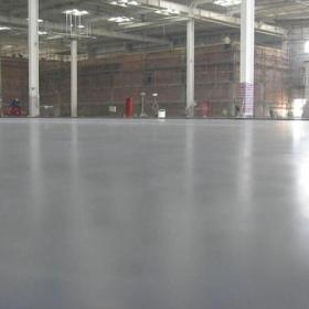 工厂混泥土固化地坪装修图片