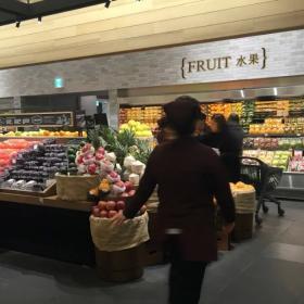 最新水果超市装修效果图