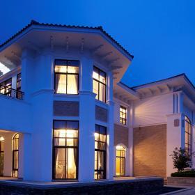 華麗歐式別墅裝飾別墅外觀圖片