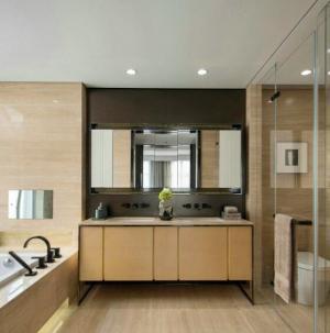 121平现代简约别墅卫生间设计