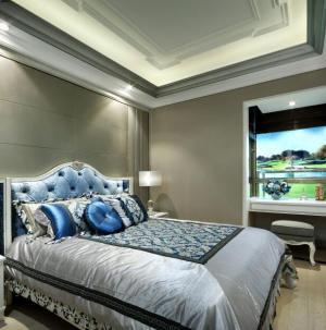 137平欧式奢华舒适卧室效果图展示