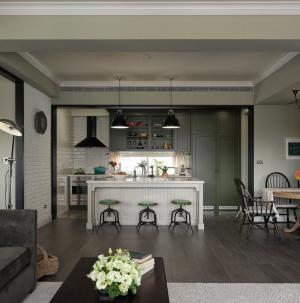混搭风格四居室设计厨房图