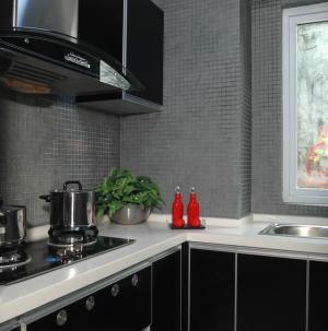 現代簡約別墅室內設計廚房圖片
