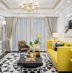 英伦风格客厅装饰设计