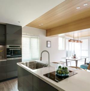 简约复式风格厨房效果图