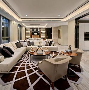 幸福舒适欧式三居室装修客厅图片