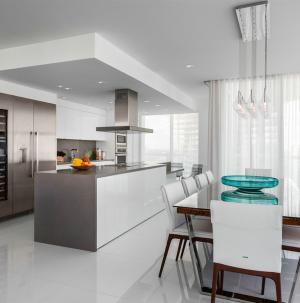 現代風格廚房餐廳裝修設計