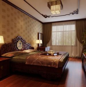 最新中式风格大气别墅卧室装饰设计