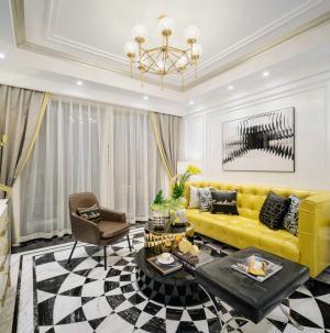 英伦风格客厅装修设计