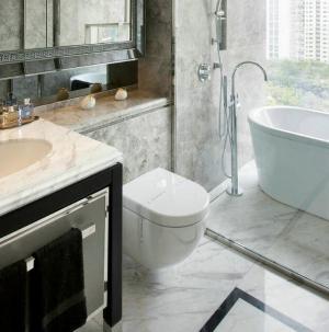 現代美式風格四居室裝飾衛生間圖片