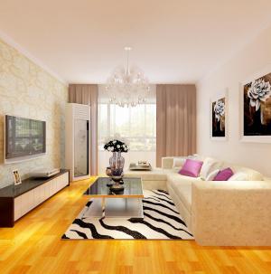 舒适现代简约客厅室内设计