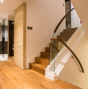 127平新中式风格家装设计楼梯效果图