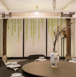 127平新中式风格家装设计餐厅图片