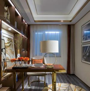 简约现代大气三居室书房装饰设计