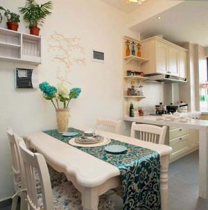 地中海風格裝修設計廚房圖片