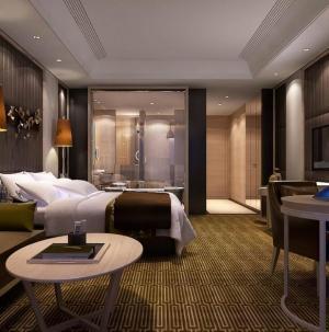 豪华酒店房间设计效果图片