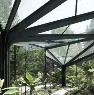 鋼結構花棚陽光棚設計