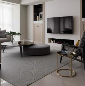 温馨时尚简约风小户型客厅设计效果图