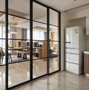 現代簡約廚房隔斷設計