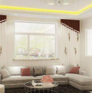130平现代简约风格设计客厅效果图