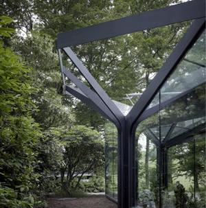 鋼結構花棚裝修圖片