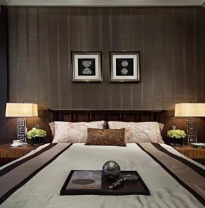 舒适个性现代风三居室装饰设计卧室图片