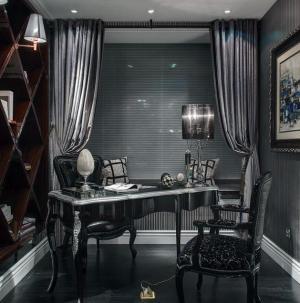 新古典奢華別墅裝修書房圖片