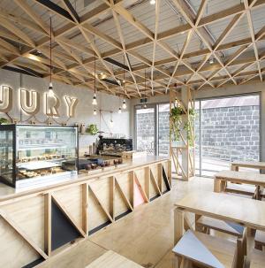 创意现代咖啡馆装修