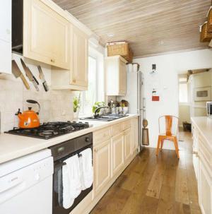一字型厨房,功能齐全