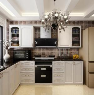 102平宜家风格装修厨房效果图案例
