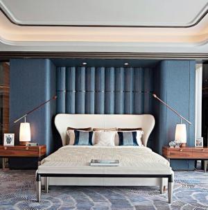 幸福舒适欧式三居室装修卧室效果图
