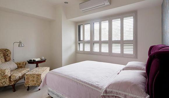 美式簡約臥室設計效果圖